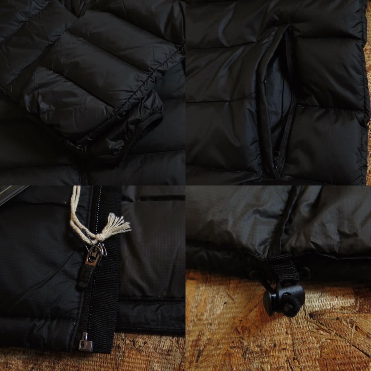 新品☆本物 NY購入 Abercrombie & Fitch Light Weight Down Jacket Mサイズ BLACK/黒 アバクロ ライトウェイト ダウンジャケット_画像8