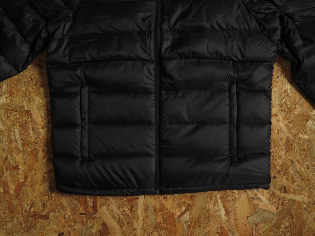 新品☆本物 NY購入 Abercrombie & Fitch Light Weight Down Jacket Mサイズ BLACK/黒 アバクロ ライトウェイト ダウンジャケット_画像4