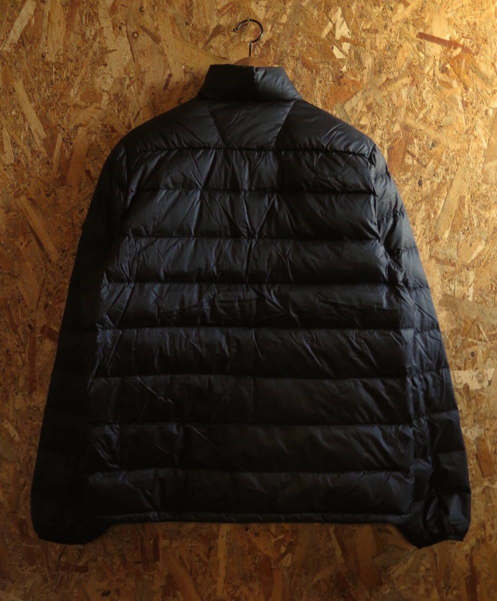 新品☆本物 NY購入 Abercrombie & Fitch Light Weight Down Jacket Mサイズ BLACK/黒 アバクロ ライトウェイト ダウンジャケット_画像3