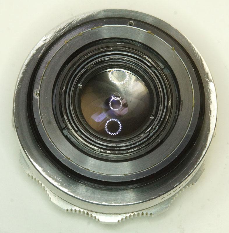 ドイツ製 Carl Zeiss Jena Tessar 2.8/50 絞羽12枚 M42 513RNB-502 フィルター径35.5mm Q1 シルバー_画像5