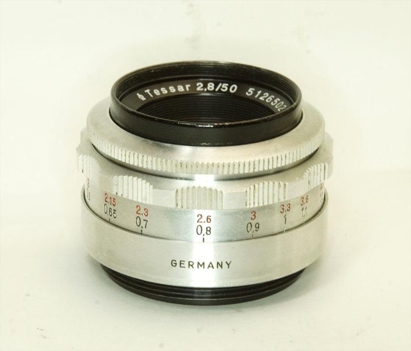 ドイツ製 Carl Zeiss Jena Tessar 2.8/50 絞羽12枚 M42 513RNB-502 フィルター径35.5mm Q1 シルバー_画像3