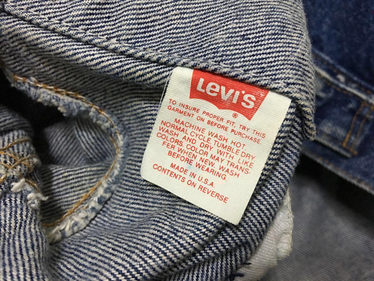 アメリカ製 リーバイス levi's 70506 0216 インディゴ デニム ジャケット 40 サード 3rd ジージャン 米国 USA_画像9