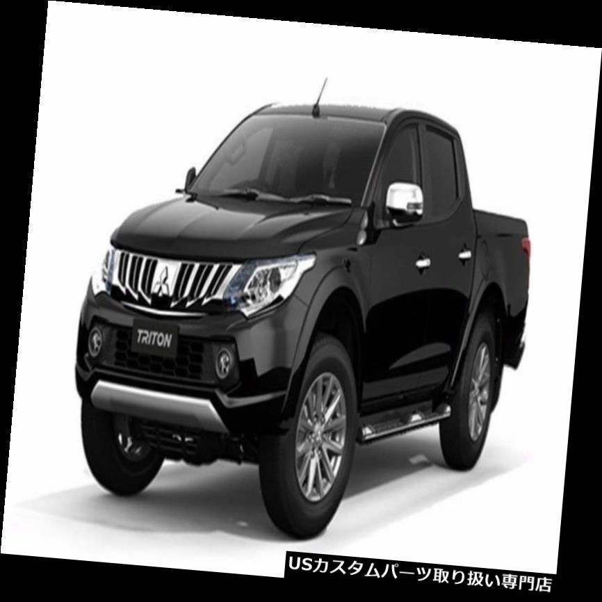 MITSUBISHI TRITON 15 DOUBLE CAB MATT  BLACK FENDER FLARES WHEEL ARCH WITH NUTS