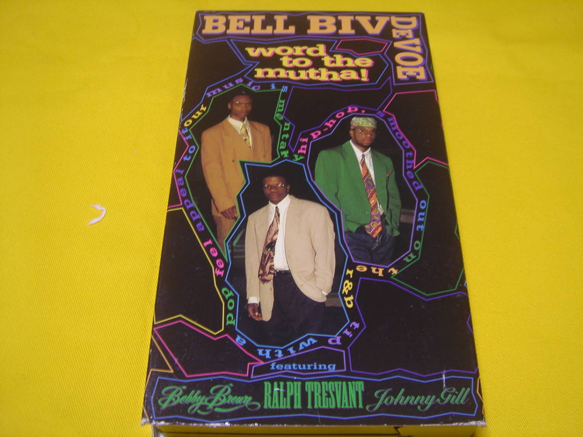 VHSビデオテープ ☆ BELL BIV DEVOE/ Word to the Mutha ! (中古 返品不可ジャンク)