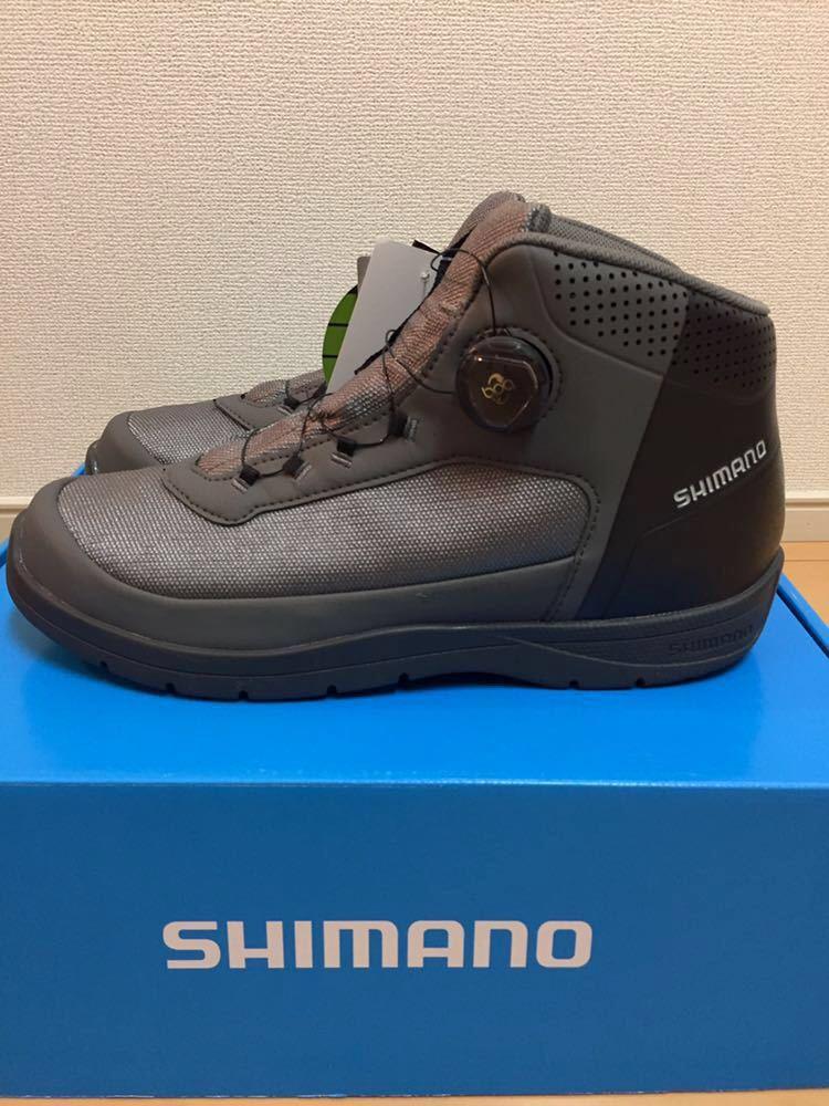 新品 SHIMANO シマノ ドライシールド ラジアルスパイク フィットシューズ 27.0