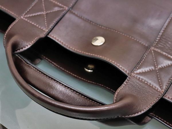 エルメス HERMES 完売 A4対応モデル フルレザー フールトゥMM エヴァーカーフ メンズ書類ビジネスバッグ ブリーフケース トート 本物 正規_画像4