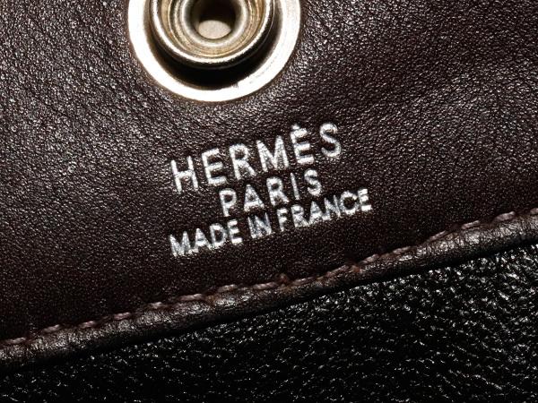 エルメス HERMES 完売 A4対応モデル フルレザー フールトゥMM エヴァーカーフ メンズ書類ビジネスバッグ ブリーフケース トート 本物 正規_画像7