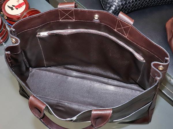 エルメス HERMES 完売 A4対応モデル フルレザー フールトゥMM エヴァーカーフ メンズ書類ビジネスバッグ ブリーフケース トート 本物 正規_画像6