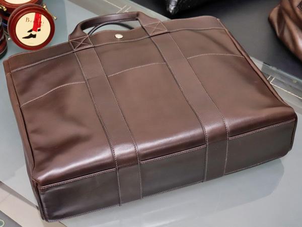 エルメス HERMES 完売 A4対応モデル フルレザー フールトゥMM エヴァーカーフ メンズ書類ビジネスバッグ ブリーフケース トート 本物 正規_画像3