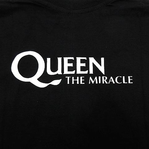 【新品】クイーン Queen 半袖 Tシャツ カットソー ロックバンド ボヘミアンラプソディー黒 ブラック メンズ XLサイズ ■管理番号LBT108_画像4