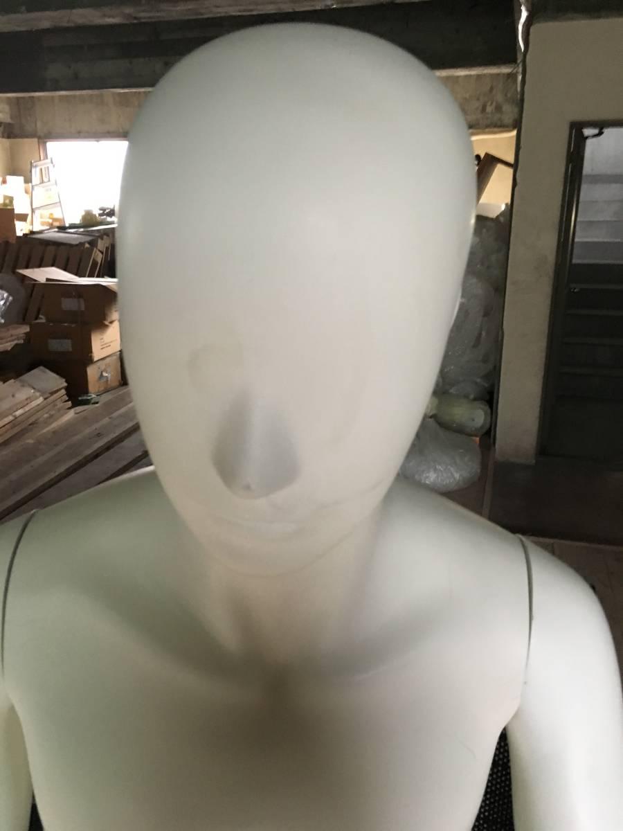 マネキン ① 男性 腕 可動式 展示 ディスプレイ  腕 脚 取り外し可 メンズ オークション フリマ_画像9