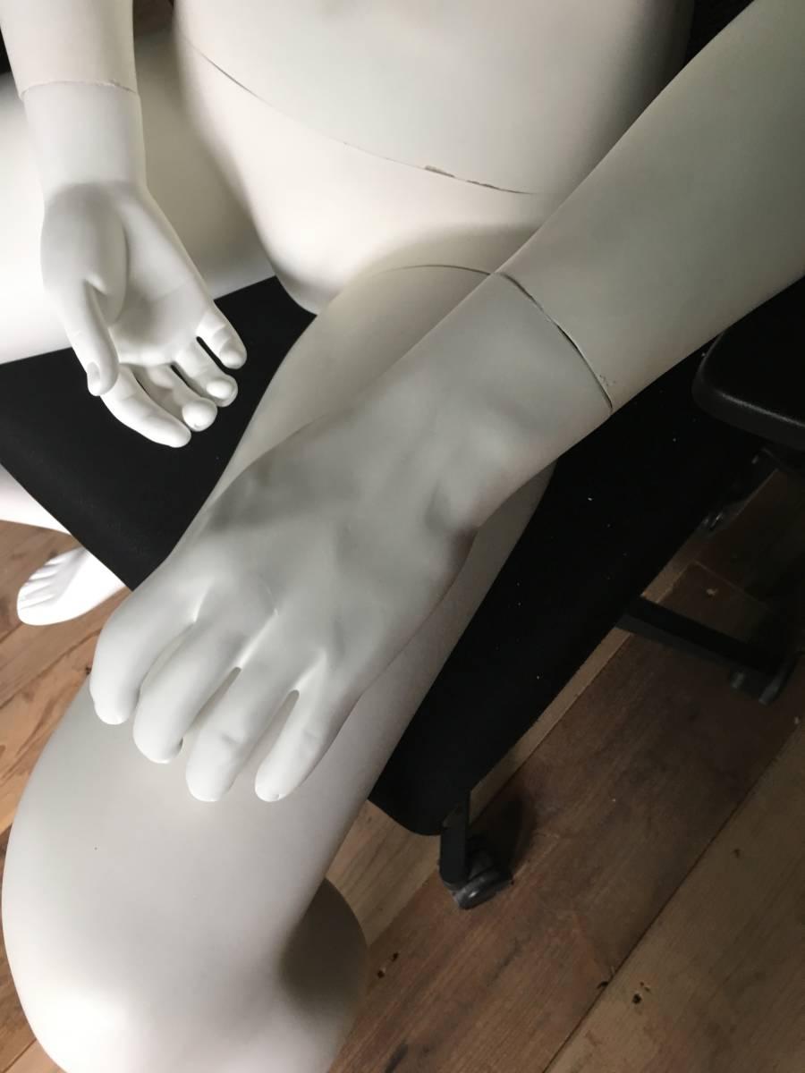 マネキン ① 男性 腕 可動式 展示 ディスプレイ  腕 脚 取り外し可 メンズ オークション フリマ_画像4