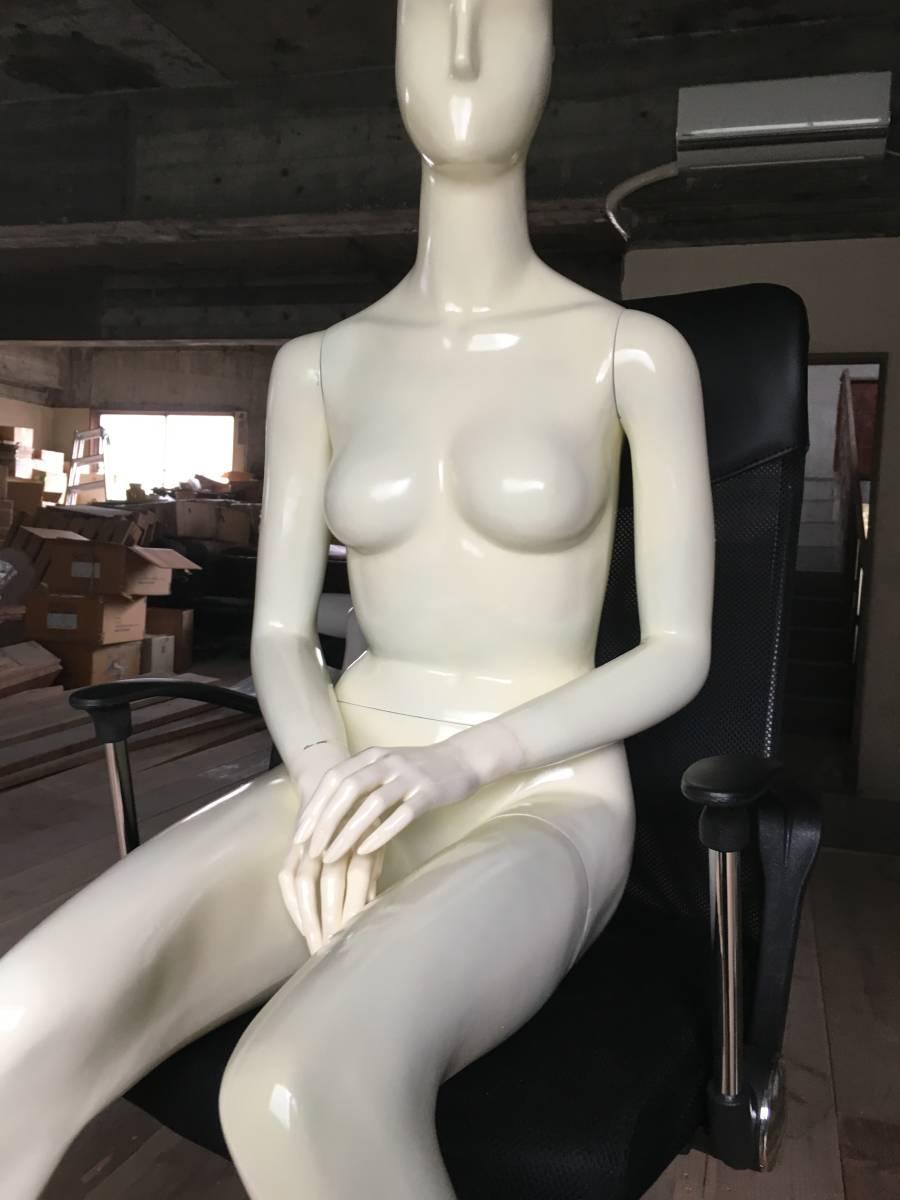 マネキン ③ 女性 腕 可動式 展示 ディスプレイ  腕 脚 取り外し可 レディース オークション フリマ_画像7