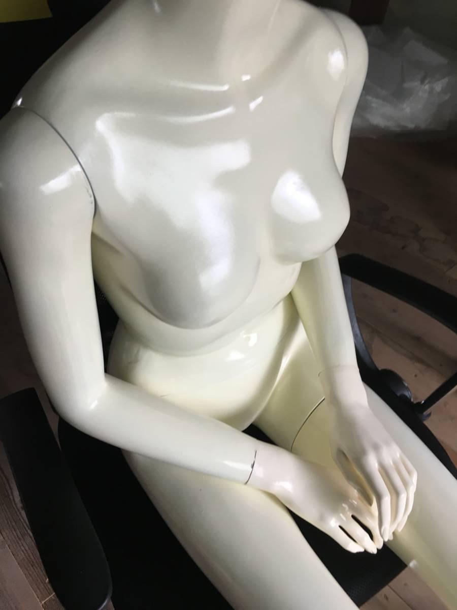 マネキン ③ 女性 腕 可動式 展示 ディスプレイ  腕 脚 取り外し可 レディース オークション フリマ_画像9