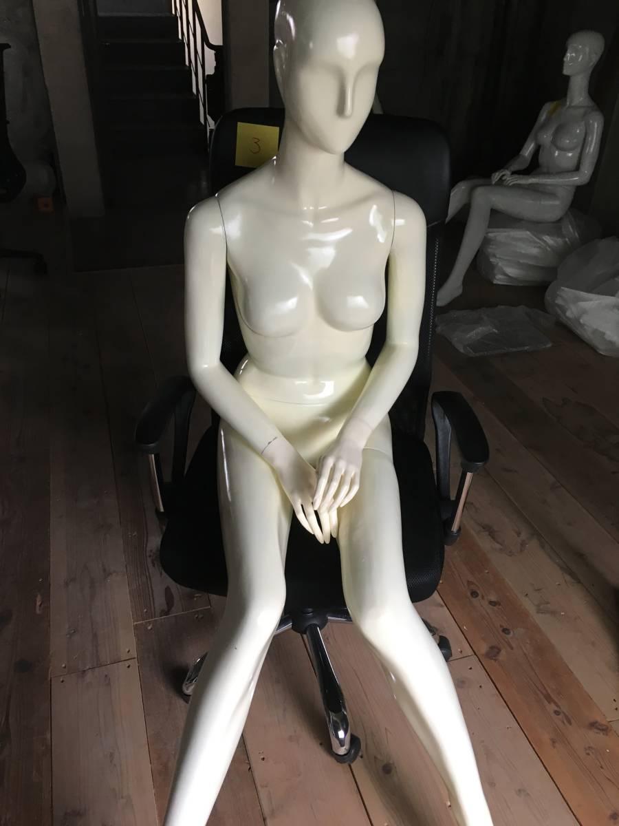 マネキン ③ 女性 腕 可動式 展示 ディスプレイ  腕 脚 取り外し可 レディース オークション フリマ
