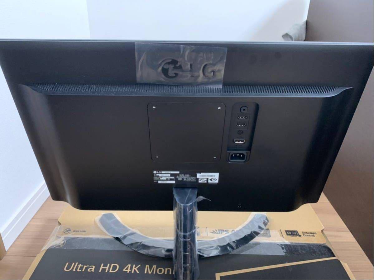 LG Ultra HD 4K 24UD58-B 美品 購入レーシート付き_画像2
