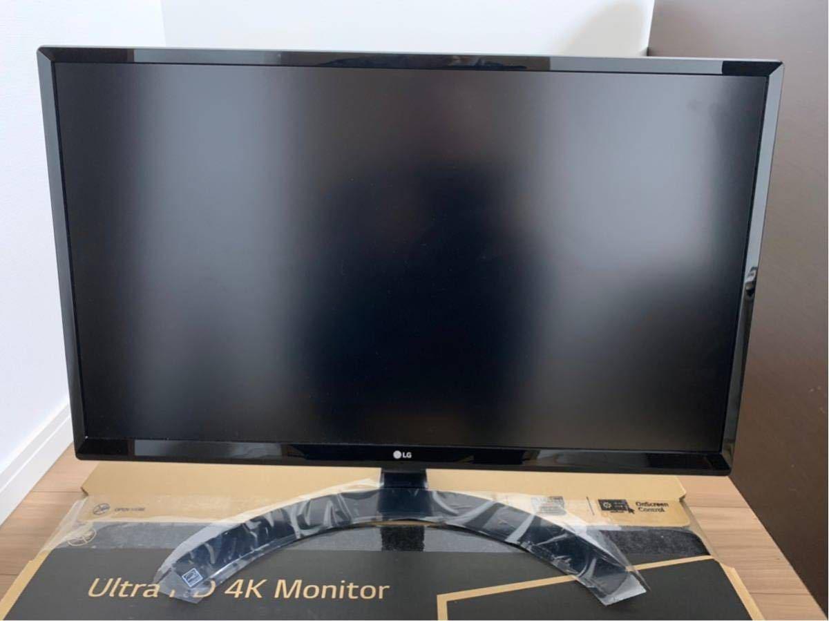 LG Ultra HD 4K 24UD58-B 美品 購入レーシート付き