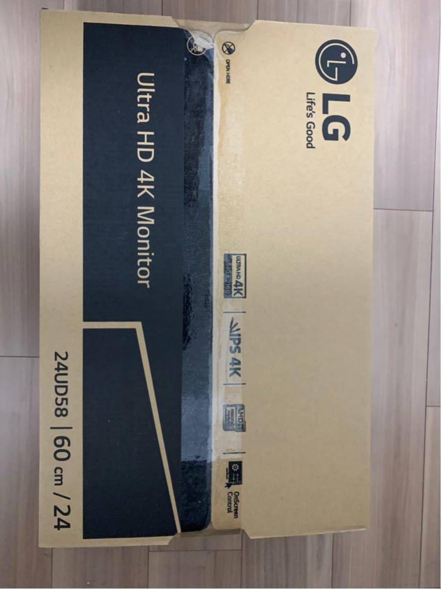 LG Ultra HD 4K 24UD58-B 美品 購入レーシート付き_画像4