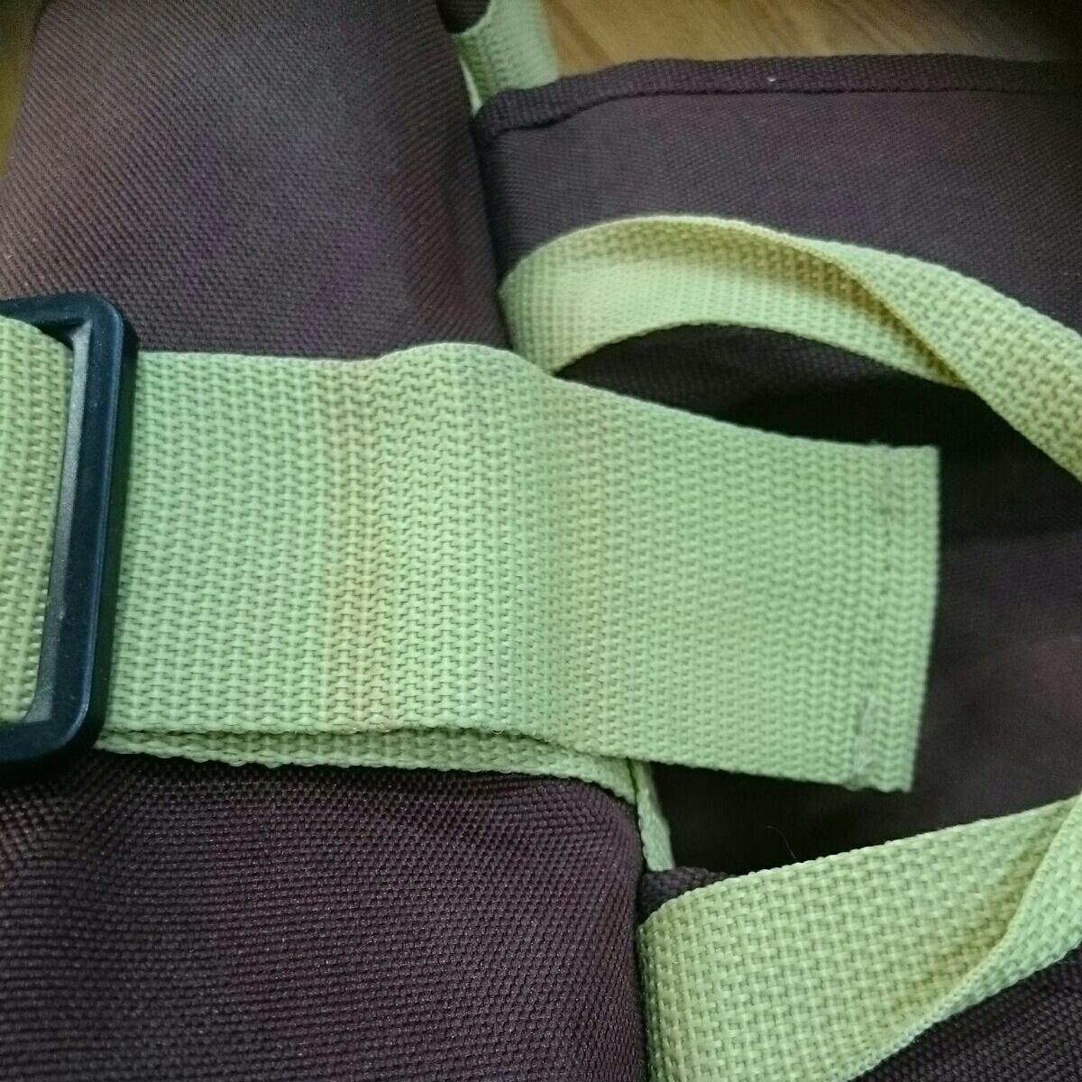ABUS メッセンジャーバッグ 未使用品 防水 雨の日も問題なし 日焼け少しあります。_画像7