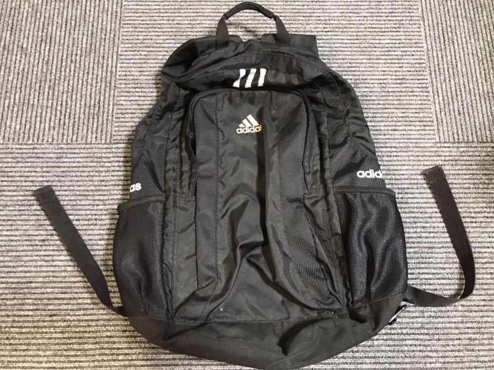 adidasアディダス■リュックサック/ナップサック■黒