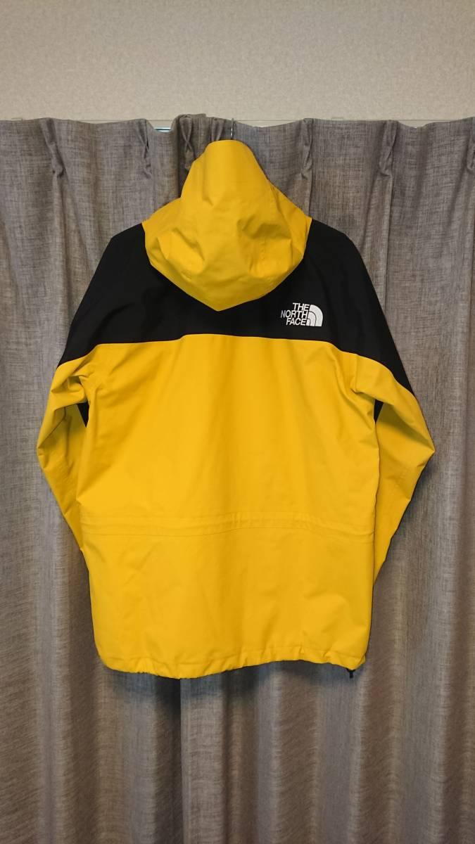 美品 ノースフェイス マウンテンライトジャケット 黄色 レオパードイエローマウンテンパーカー バルトロライトダウンデナリフリースベスト _画像2