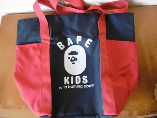 BAPE KIDS A BATHING APE 2019 SPRING COLLECTION e-MOOK with BAPE TOTE BAG