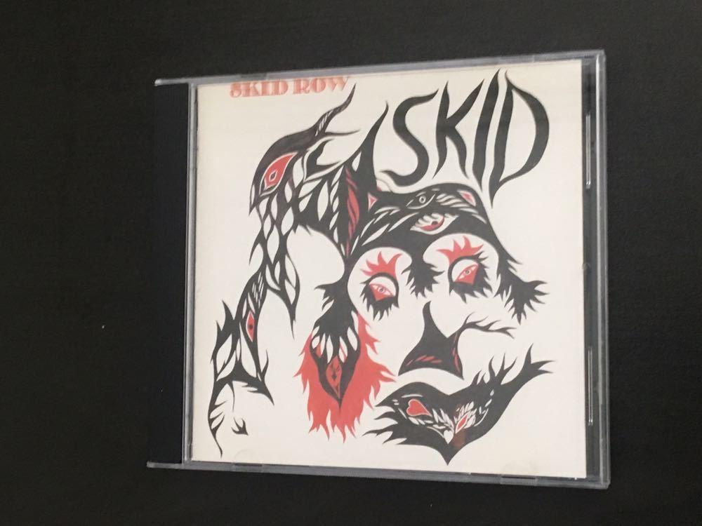 ゲイリー・ムーア SKID ROW [スキッド・ロウ] 1970年 『SKID』 日本盤CD_画像1