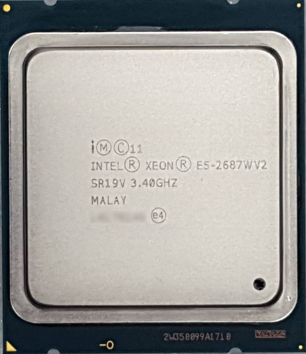 インテル Intel Xeon E5-2687WV2 3.4GHz 8-core CPU FCLGA2011