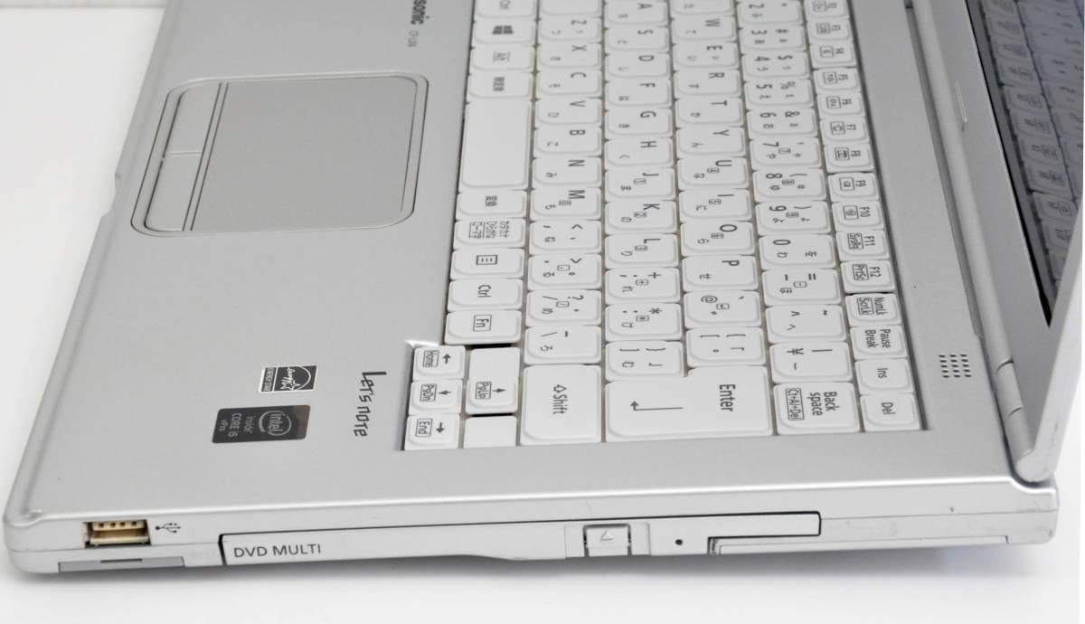 極上品 SSD+メモリ8GB Panasonic CF-LX4 Corei5-5300U 2.3GHz / SSD256GB / マルチ / 無線 / 使用時間7170 / Win10Pro64_画像5