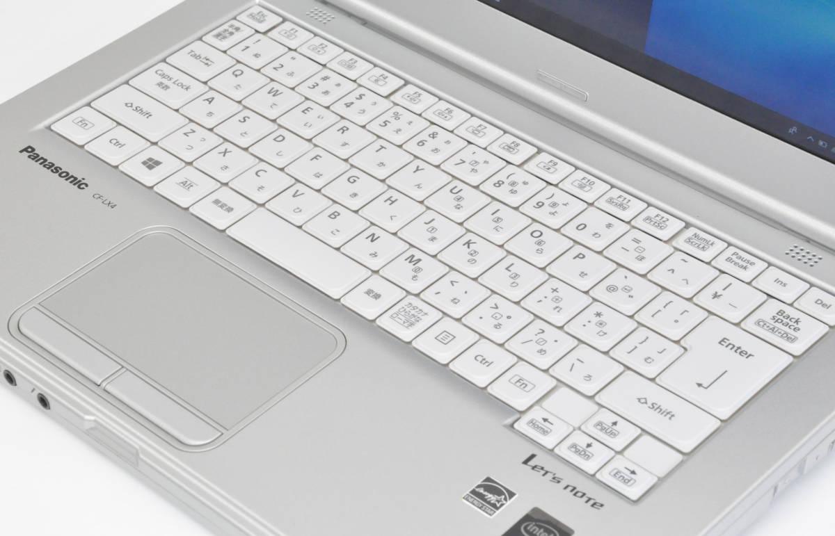 極上品 SSD+メモリ8GB Panasonic CF-LX4 Corei5-5300U 2.3GHz / SSD256GB / マルチ / 無線 / 使用時間7170 / Win10Pro64_画像2