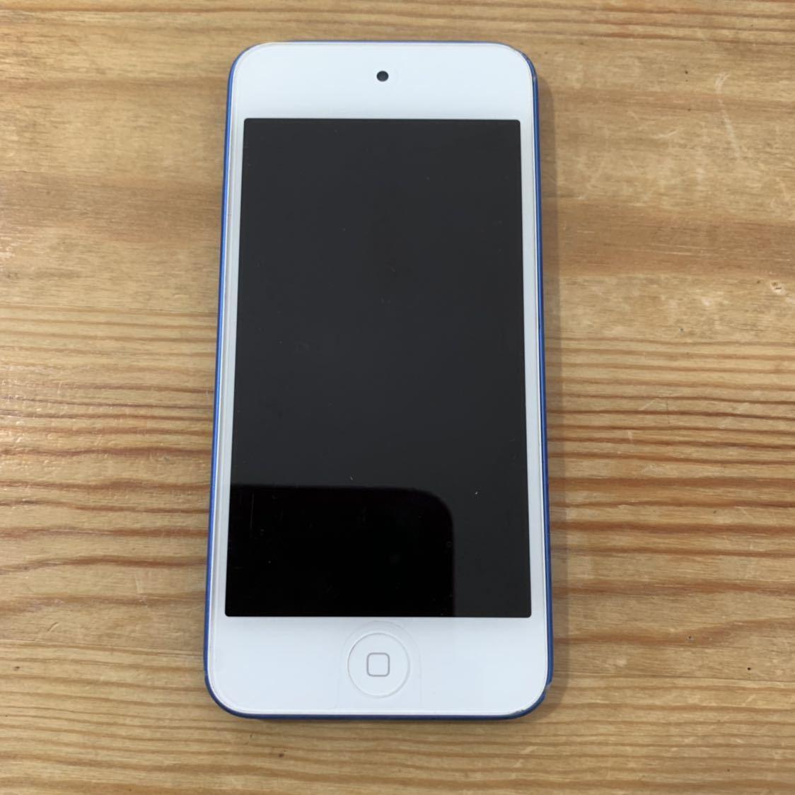 1円スタート!Apple iPod touch 第6世代 16GB ブルー 青 A1574 送料無料_画像6