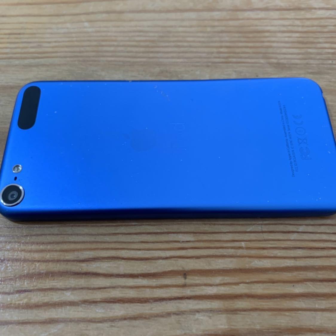 1円スタート!Apple iPod touch 第6世代 16GB ブルー 青 A1574 送料無料_画像5