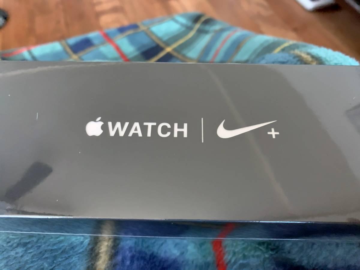 【新品未開封】Apple Watch series 4 シリーズ 4 Nike+ S4 44mm GPSモデル ブラック MU6L2J/A Model A1978
