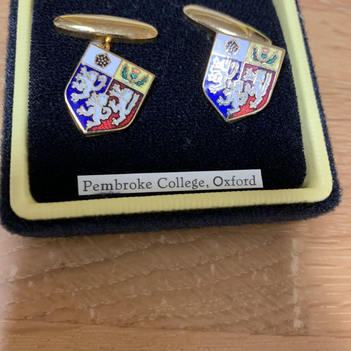 Catwalk & Son Oxford Pembroke college カフス 新品_画像3