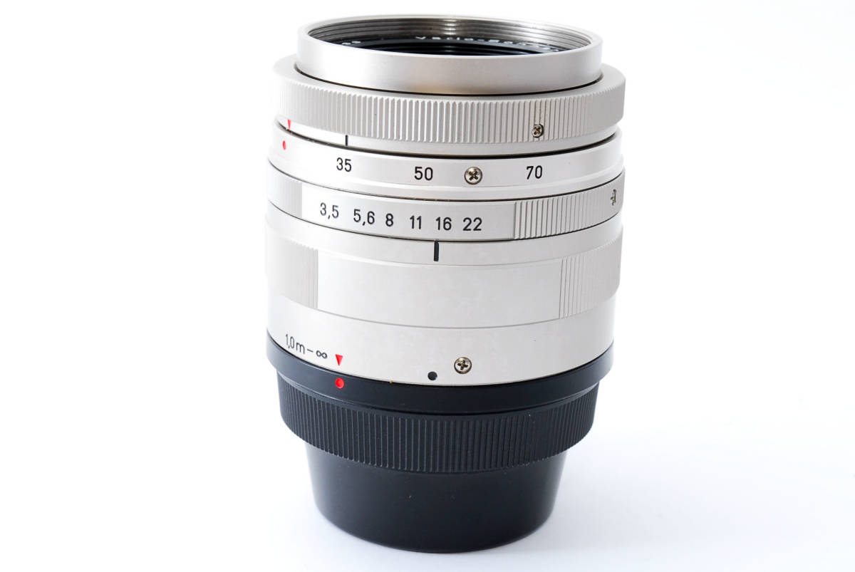 ★超超美品★ コンタックス CONTAX Carl Zeiss Vario-Sonnar T* 35-70mm F3.5-5.6★ワンオーナー #5533_画像8