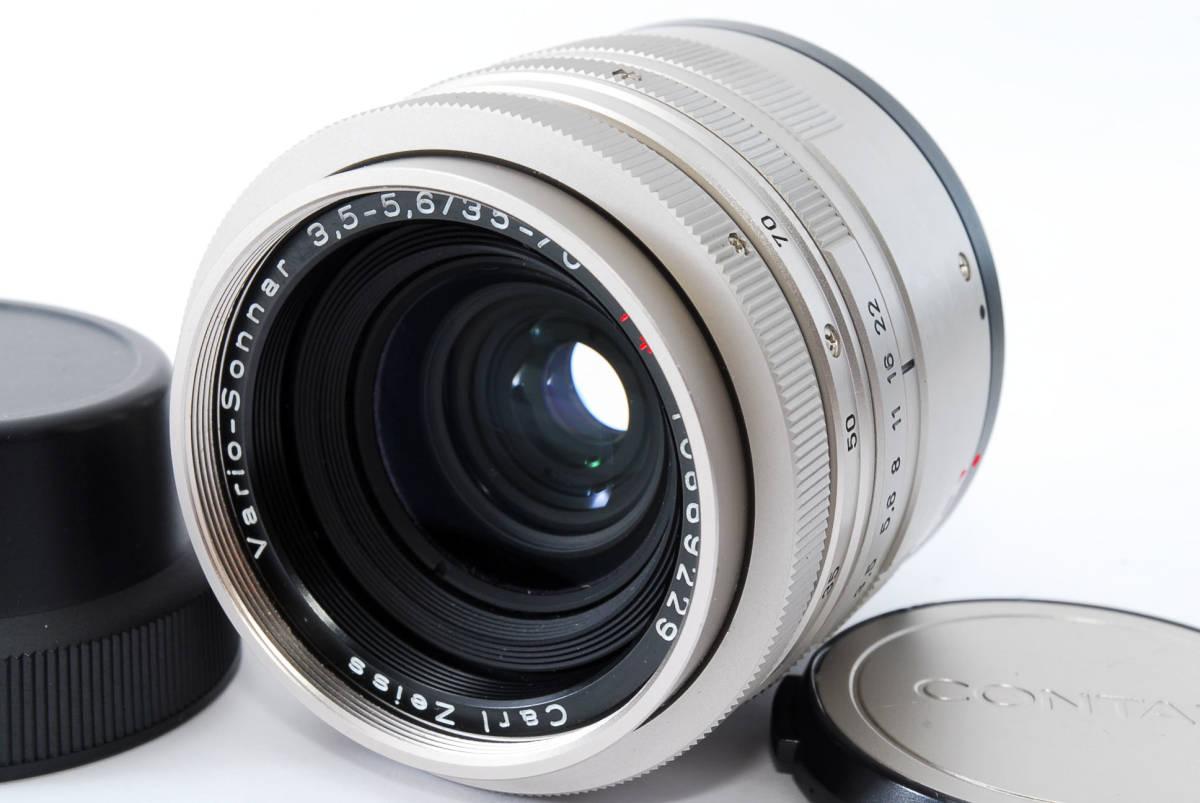★超超美品★ コンタックス CONTAX Carl Zeiss Vario-Sonnar T* 35-70mm F3.5-5.6★ワンオーナー #5533_画像2