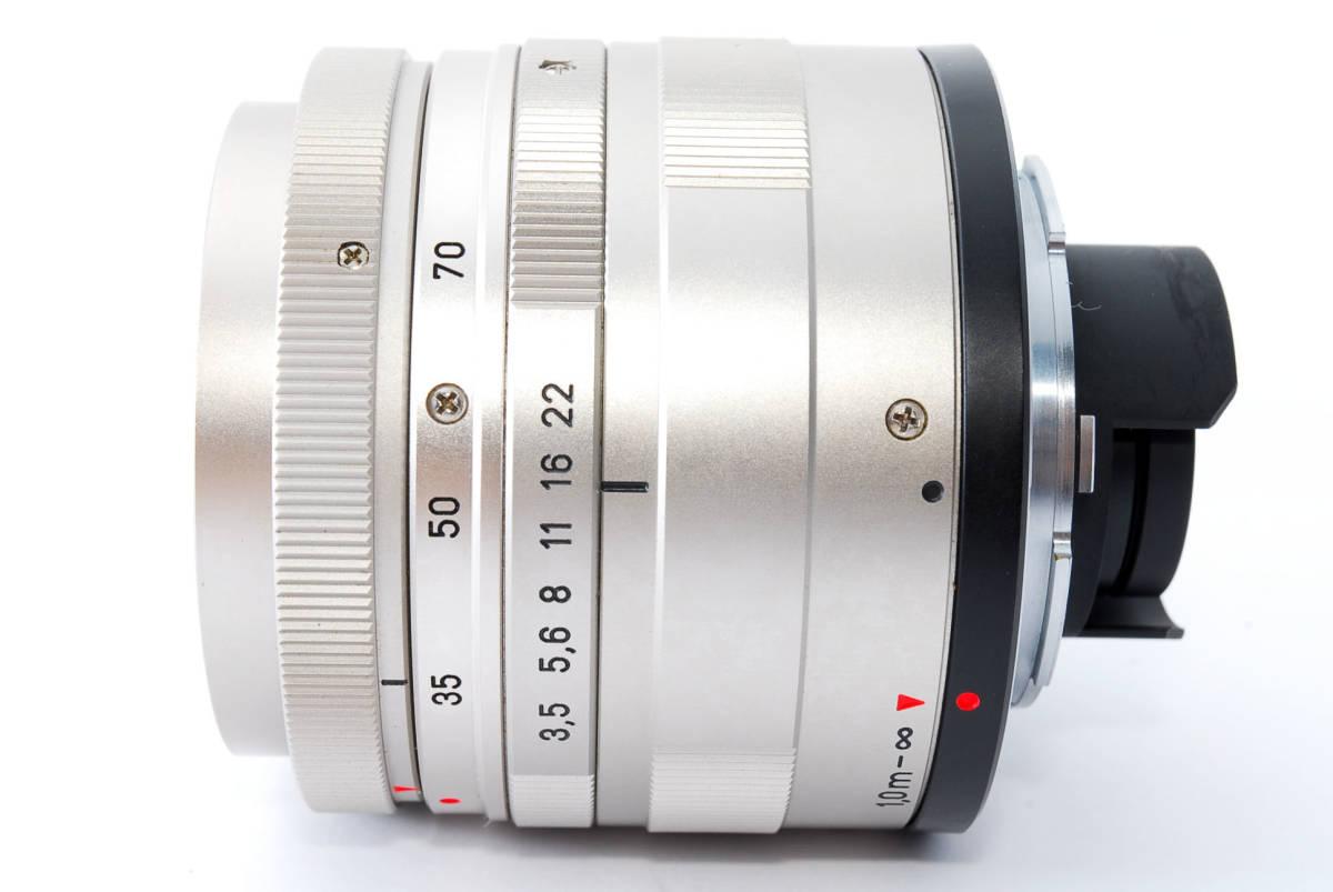★超超美品★ コンタックス CONTAX Carl Zeiss Vario-Sonnar T* 35-70mm F3.5-5.6★ワンオーナー #5533_画像6