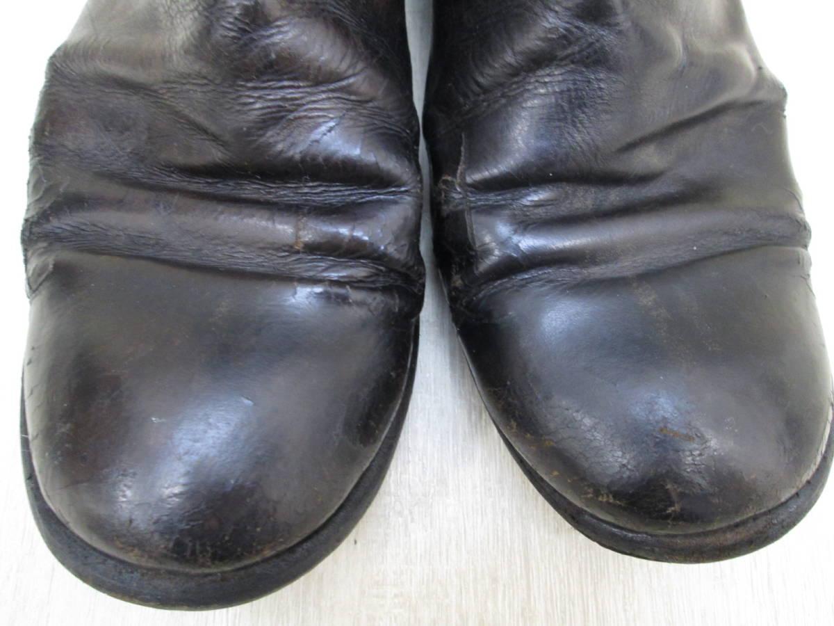 st/128282/1903/グイディ Guidi サイドジップ ブーツ レザー/ブラック/サイズ43(JP約27.5cm)_画像3