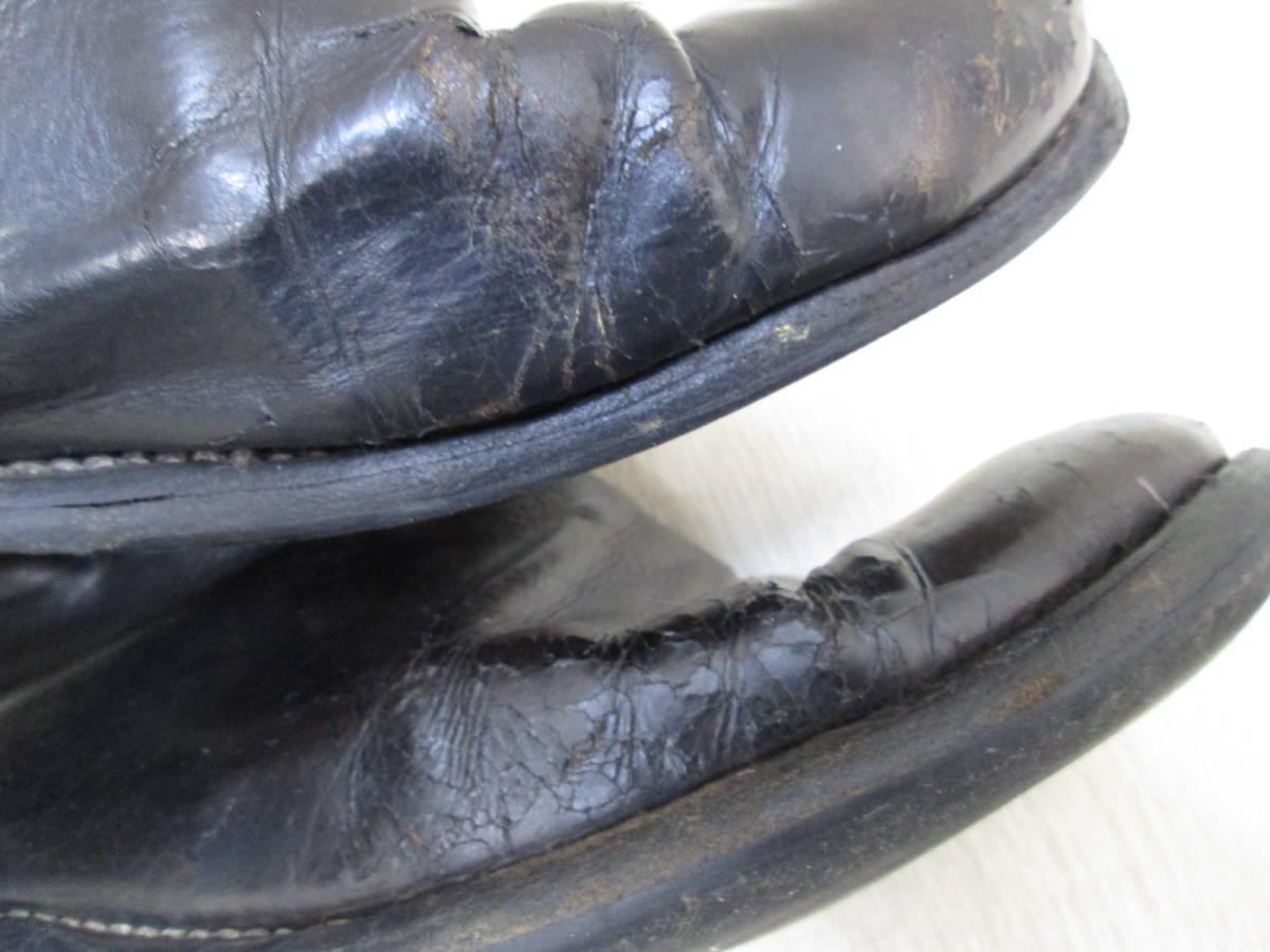 st/128282/1903/グイディ Guidi サイドジップ ブーツ レザー/ブラック/サイズ43(JP約27.5cm)_画像4
