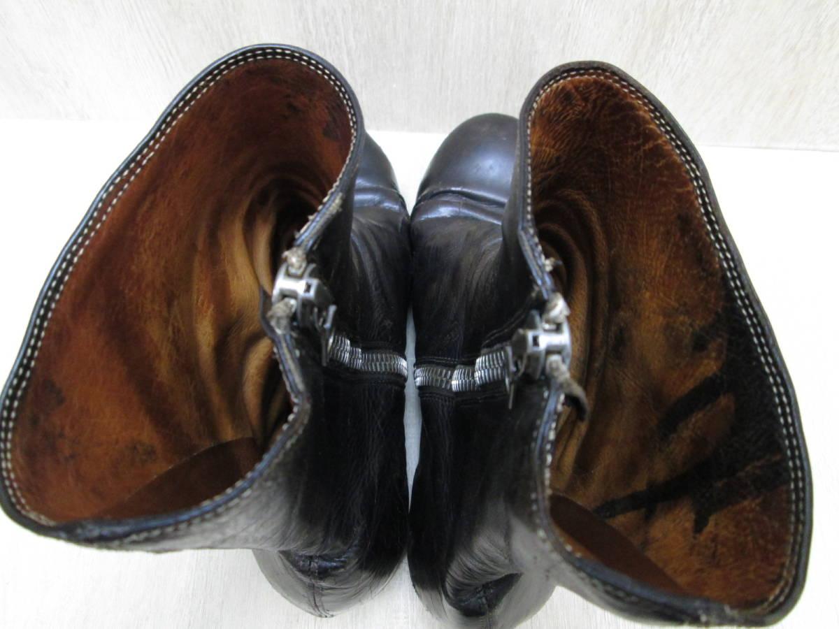 st/128282/1903/グイディ Guidi サイドジップ ブーツ レザー/ブラック/サイズ43(JP約27.5cm)_画像6