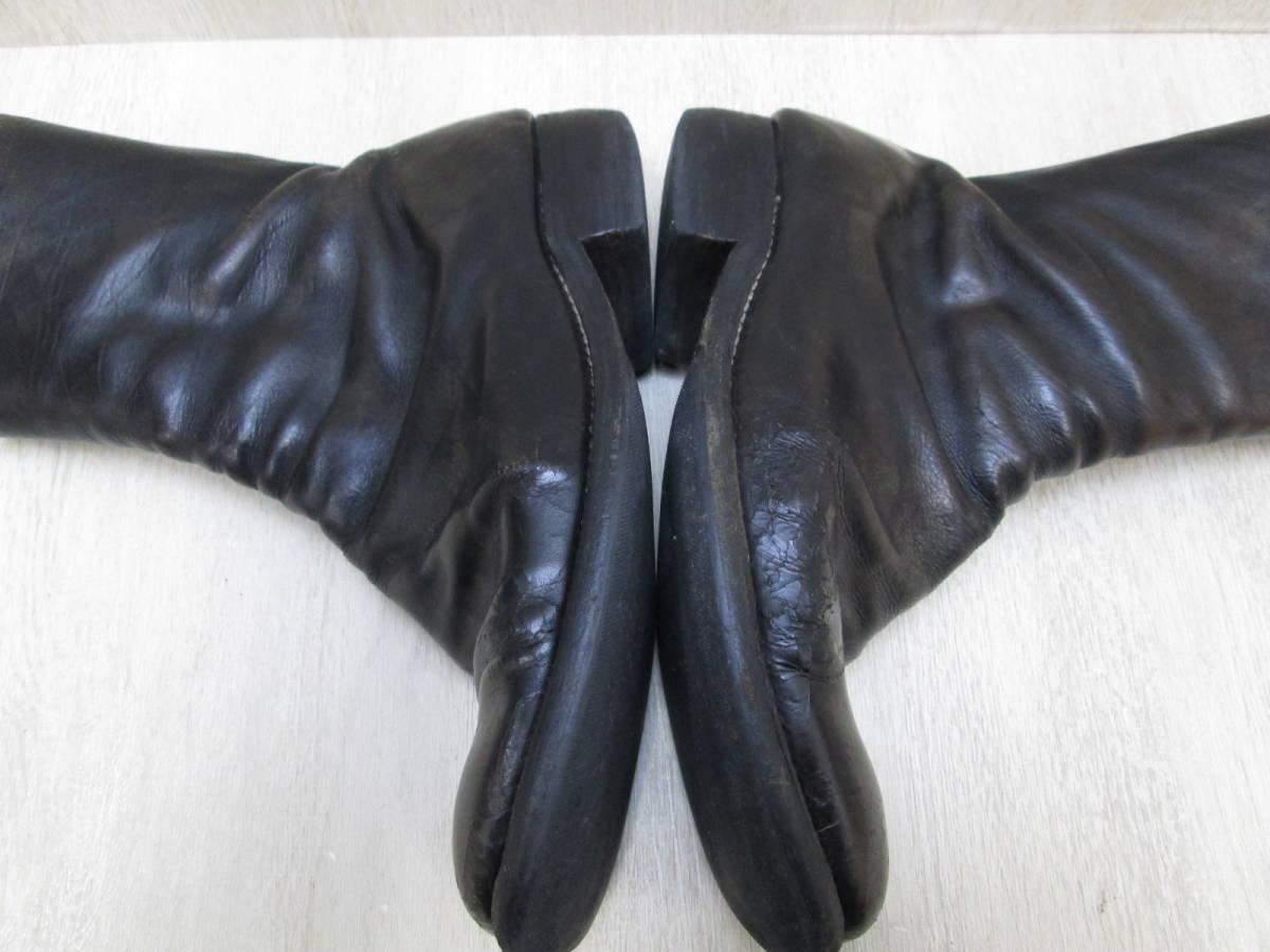 st/128282/1903/グイディ Guidi サイドジップ ブーツ レザー/ブラック/サイズ43(JP約27.5cm)_画像8