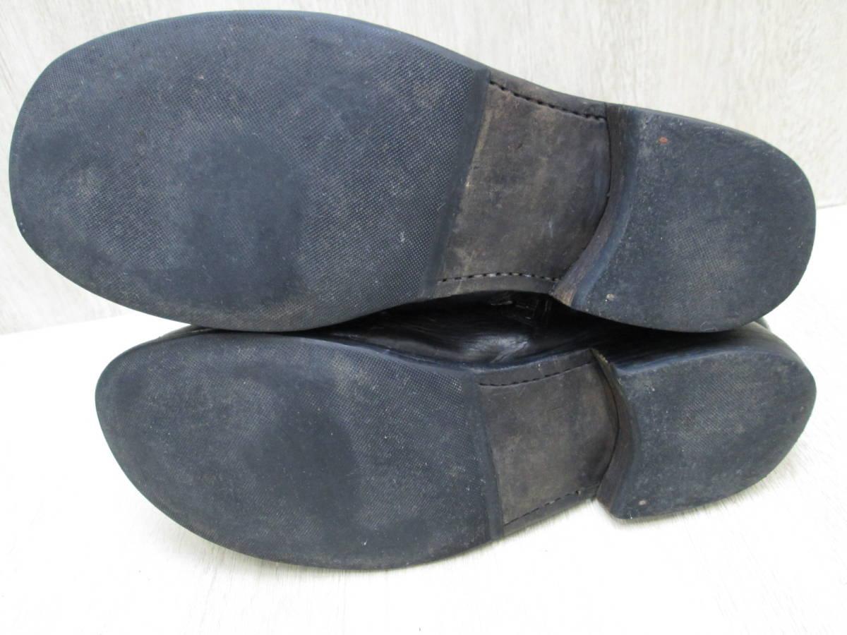 st/128282/1903/グイディ Guidi サイドジップ ブーツ レザー/ブラック/サイズ43(JP約27.5cm)_画像9
