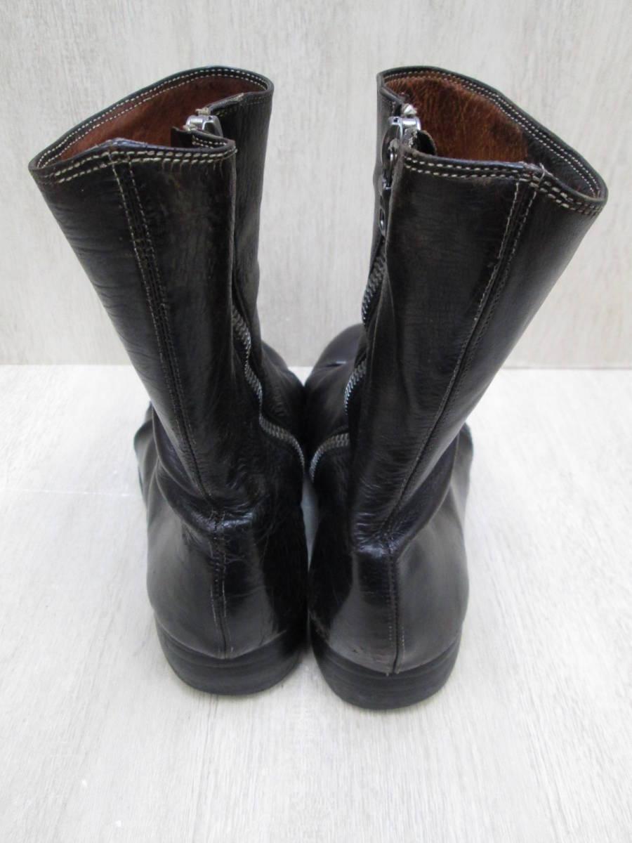 st/128282/1903/グイディ Guidi サイドジップ ブーツ レザー/ブラック/サイズ43(JP約27.5cm)_画像5