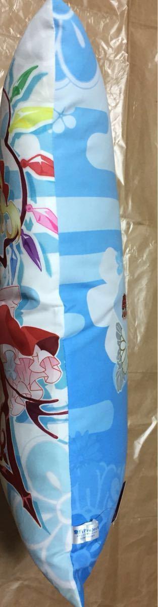 東方Project メガジャンボ クッション フランドール・スカーレット レミリア・スカーレット / セガ 製品 / たて約53㎝ よこ約34㎝_画像3
