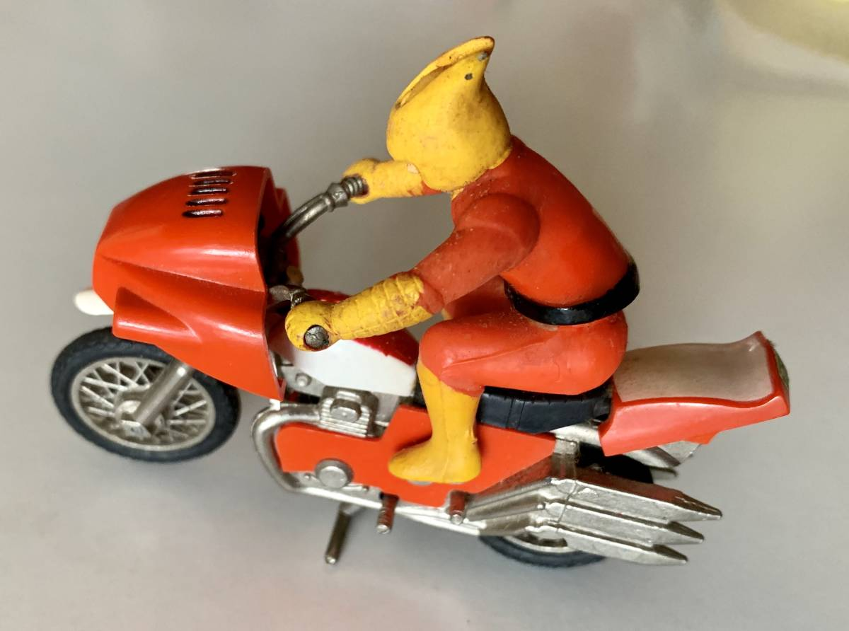 <ビンテージ> ポピー 『超合金マジンガーZ 兜号オートバイ』_画像9