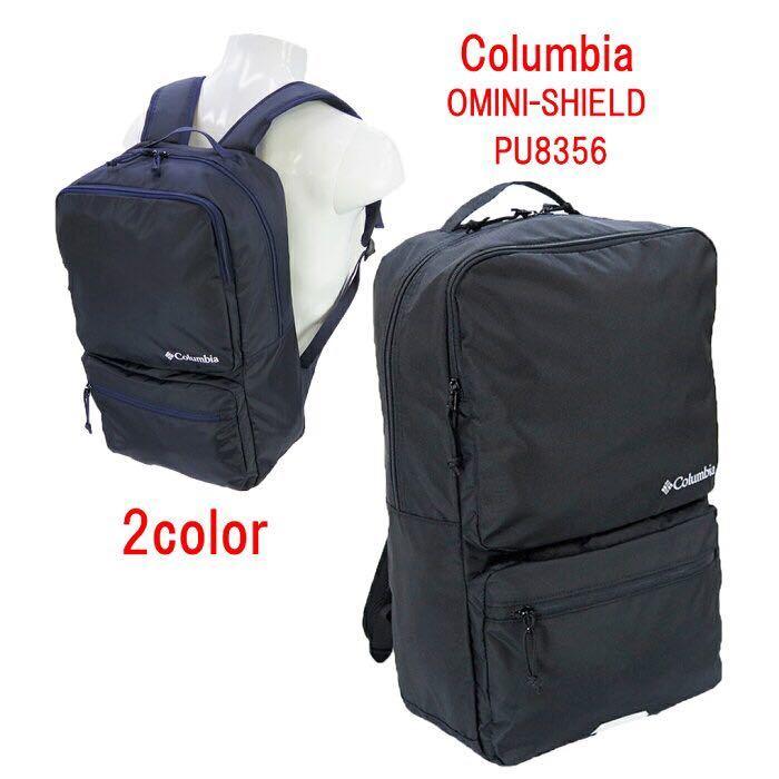 ☆ 最安値 最新作 Columbia コロンビア ビジネスバッグ ビジネスリュック 大容量 撥水 軽量 スクエアーリュック PU8356 ブラック ☆_画像1