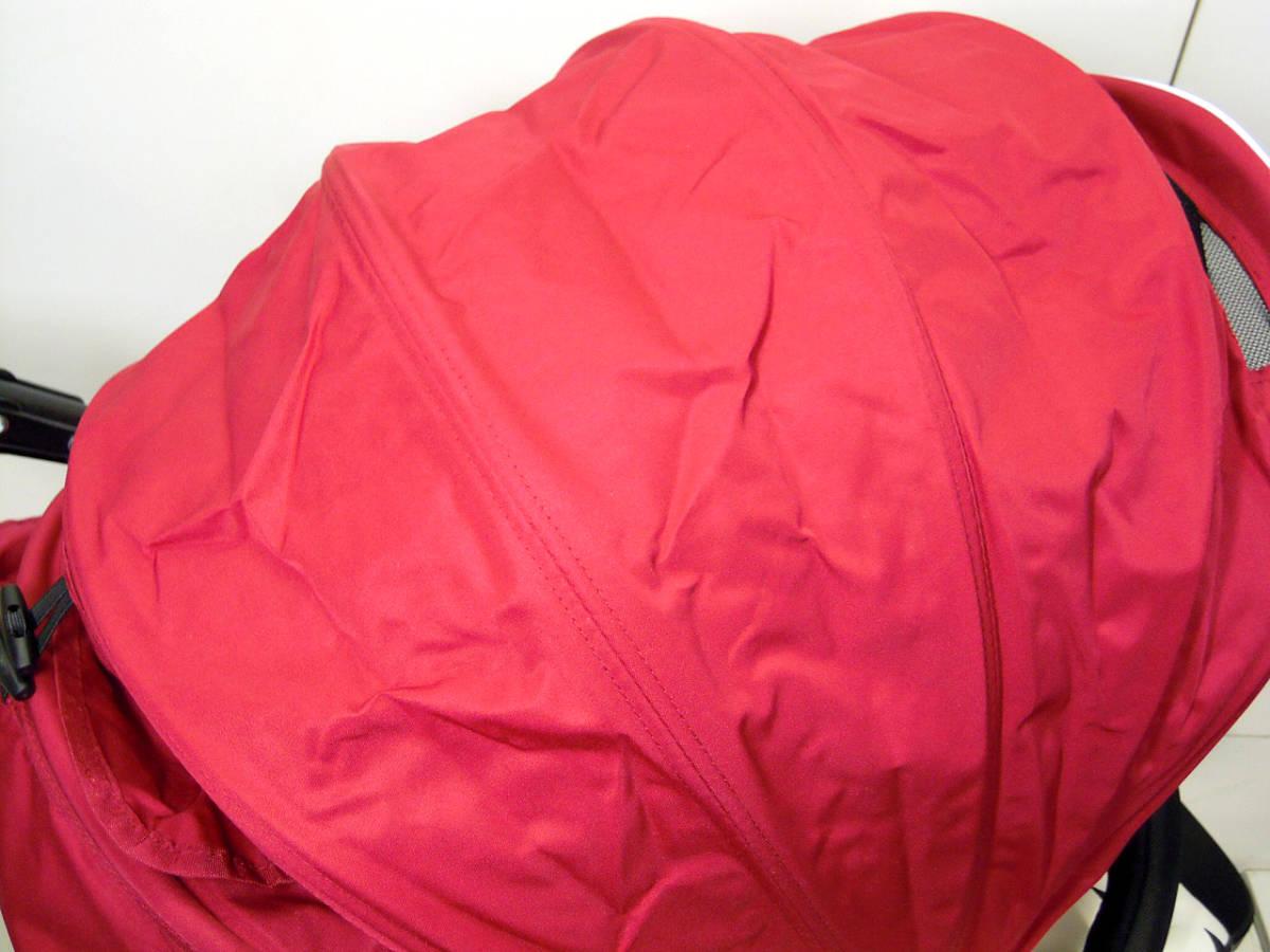▽Air Buggy COCO ベビーストローラー エアバギー ココ ブレーキモデル 2013年製 空気入れ・各種カバー付き ベビーカーε_画像7