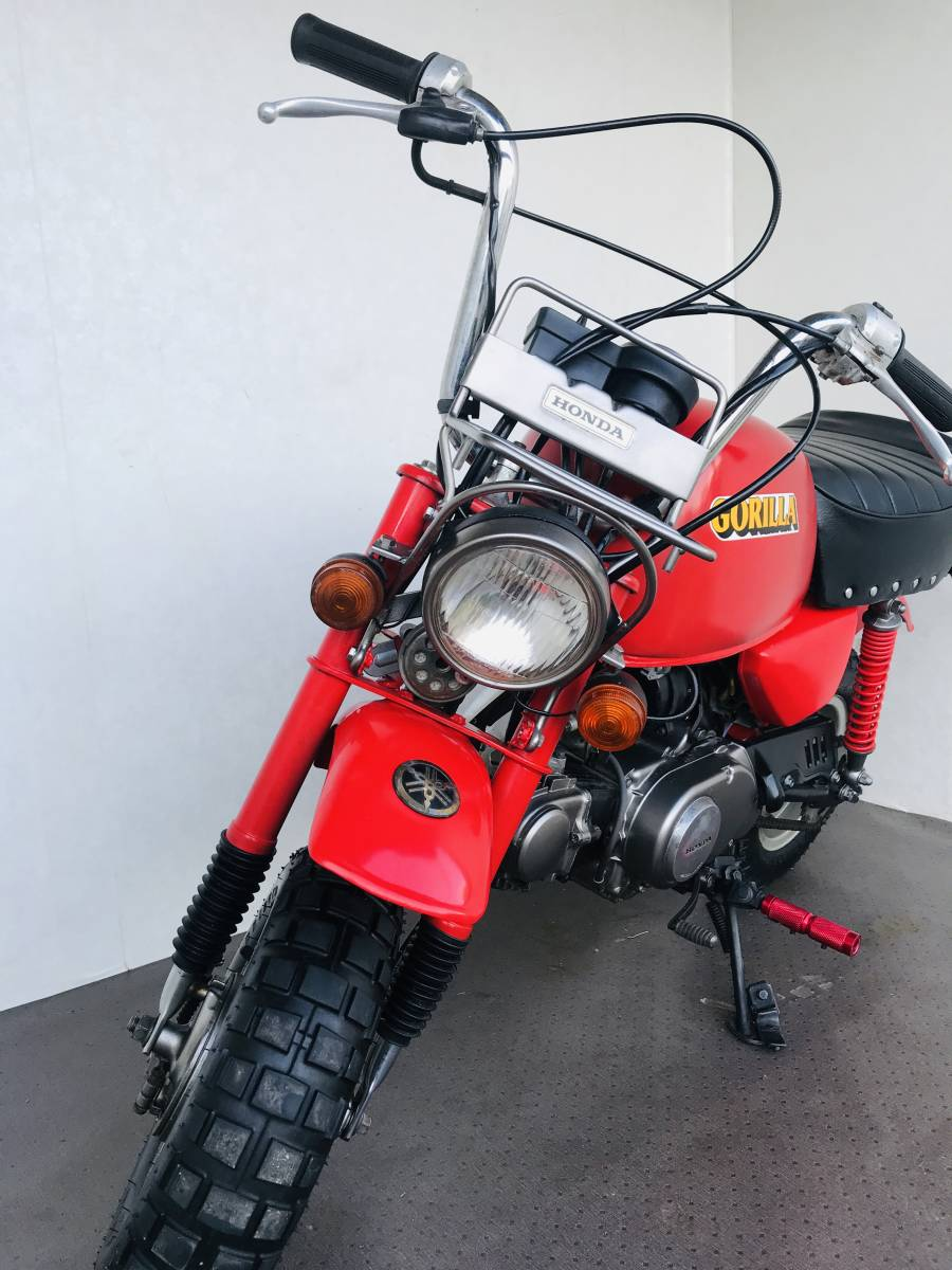 ホンダ ゴリラ Z50J カスタム 6V