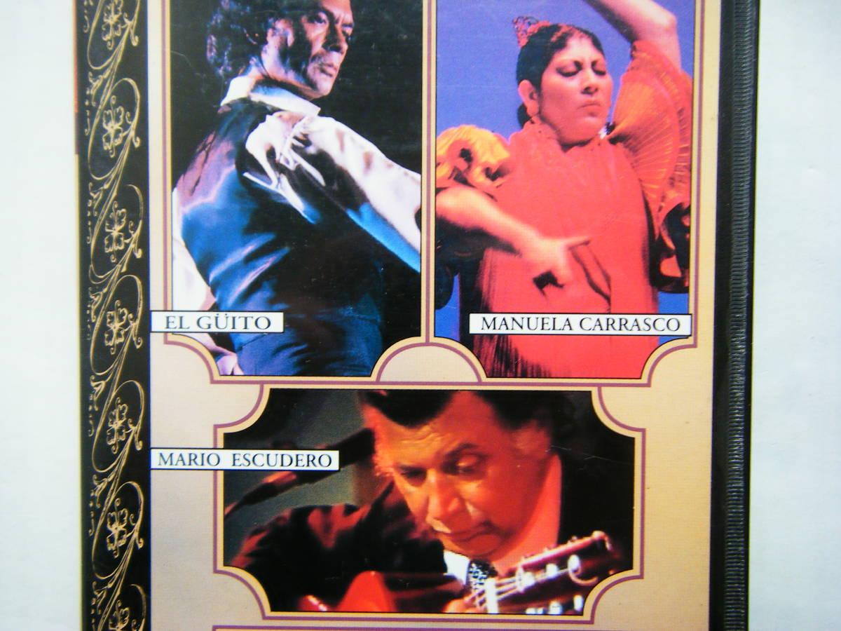 即決中古VHSビデオ「現代フラメンコのスターたち Vol.30 フラメンコの根 ビエナル・ベスト・パフォーマンス Vol.2 マヌエラ・カラスコ 他」_画像4