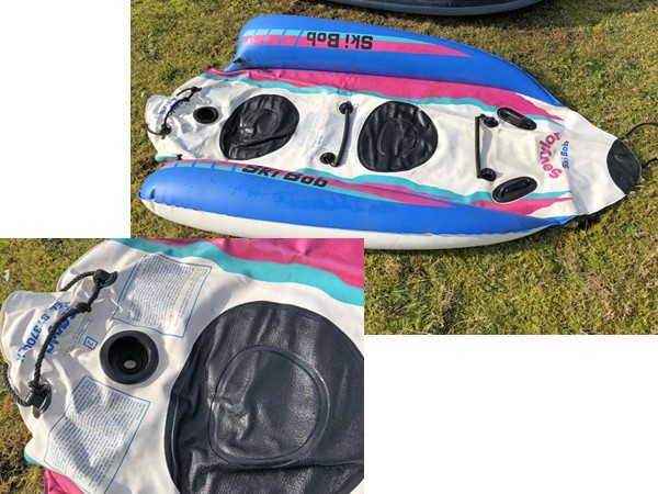 Achilles アキレス ゴムボート/Sevylor セビラー Ski Bob/Best Way/浮き輪 4点セット 海遊び/雪遊びに_画像8